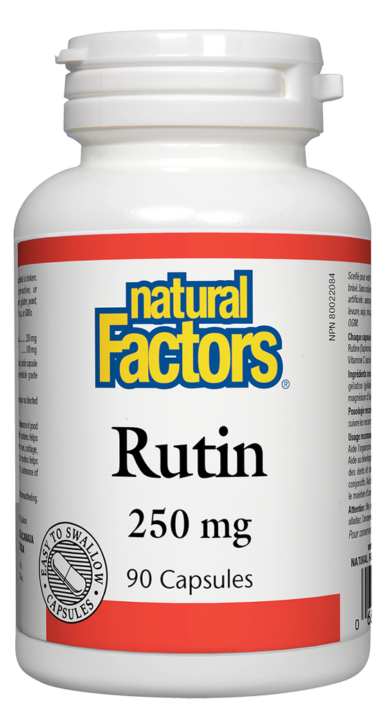 NATURAL FACTORS RUTIN 90CAPS