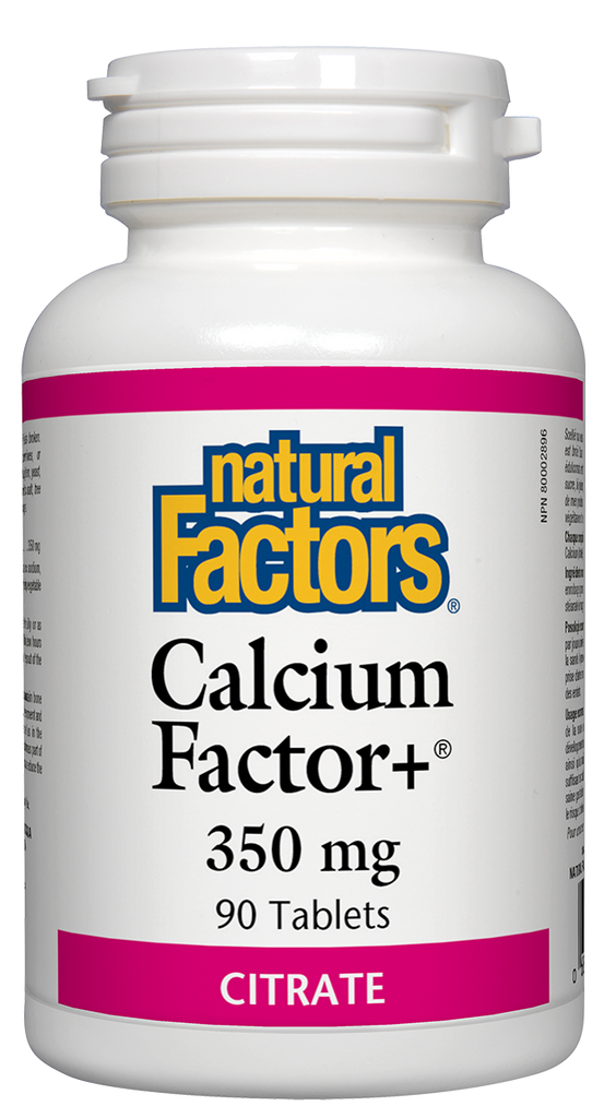 NATURAL FACTORS CALCIUM FACTOR+ 90TABS