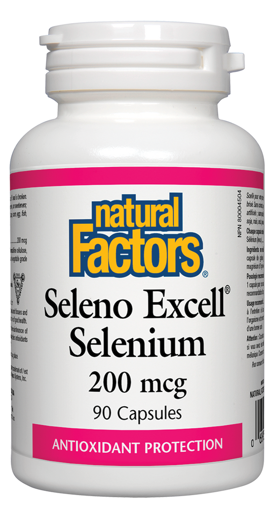 NATURAL FACTORS SELENO EXCELL SELENIUM 90CAPS