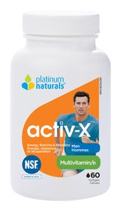 PLATINUM NATURALS ACTIV-X FOR MEN 60SGS