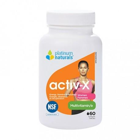 PLATINUM NATURALS ACTIV-X FOR WOMEN 60SGS