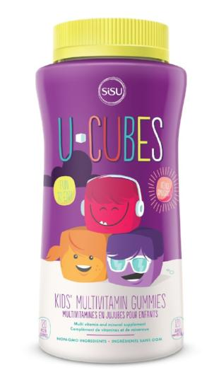 SISU U-CUBES KID'S MULTIVITAMIN 120GUMMIES
