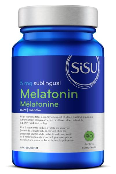 SISU MELATONIN 5MG 90TABS