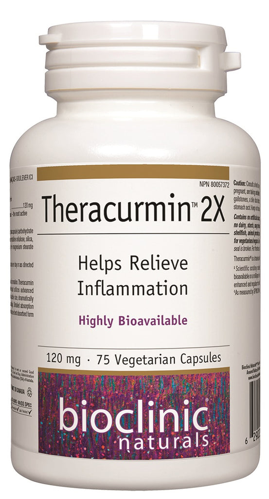 BIOCLINIC THERACURMIN 2X 120MG 75VCAPS