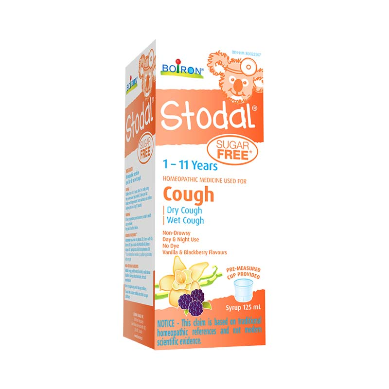 BOIRON STODAL COUGH SUGAR-FREE CHILDREN 125ML