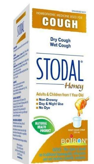 BOIRON STODAL HONEY FOR 1 YEAR OLD+ 200ML