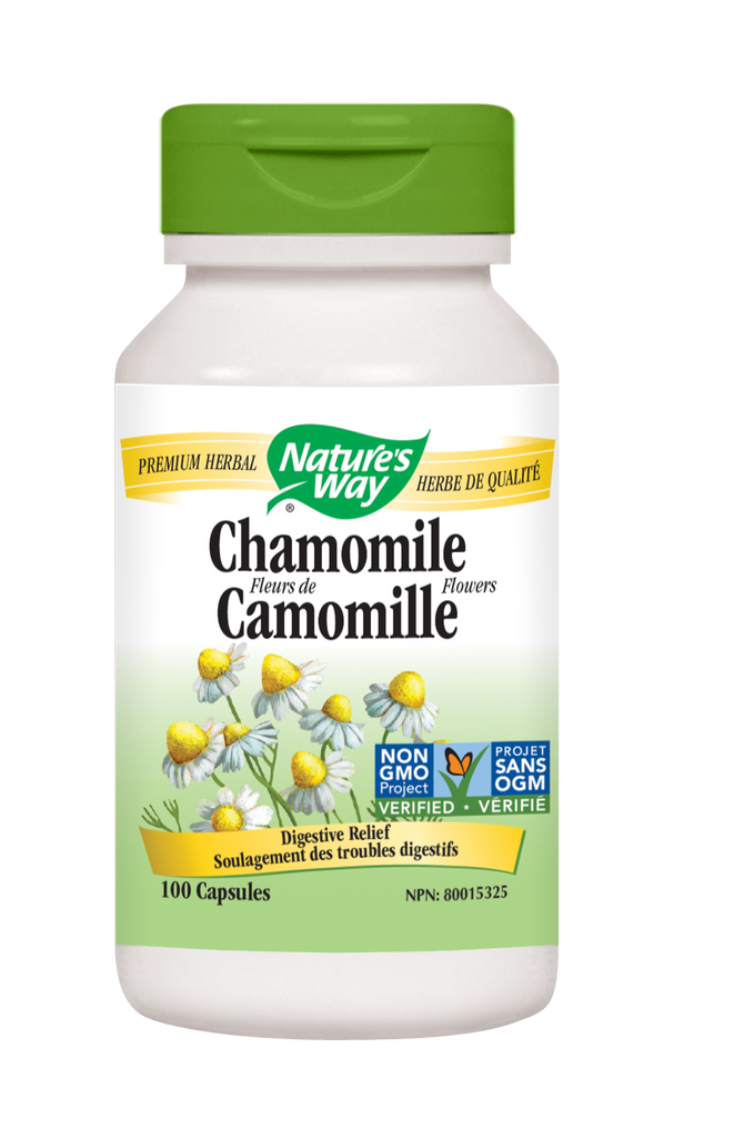 NATURE'S WAY CHAMOMILE 100CAPS