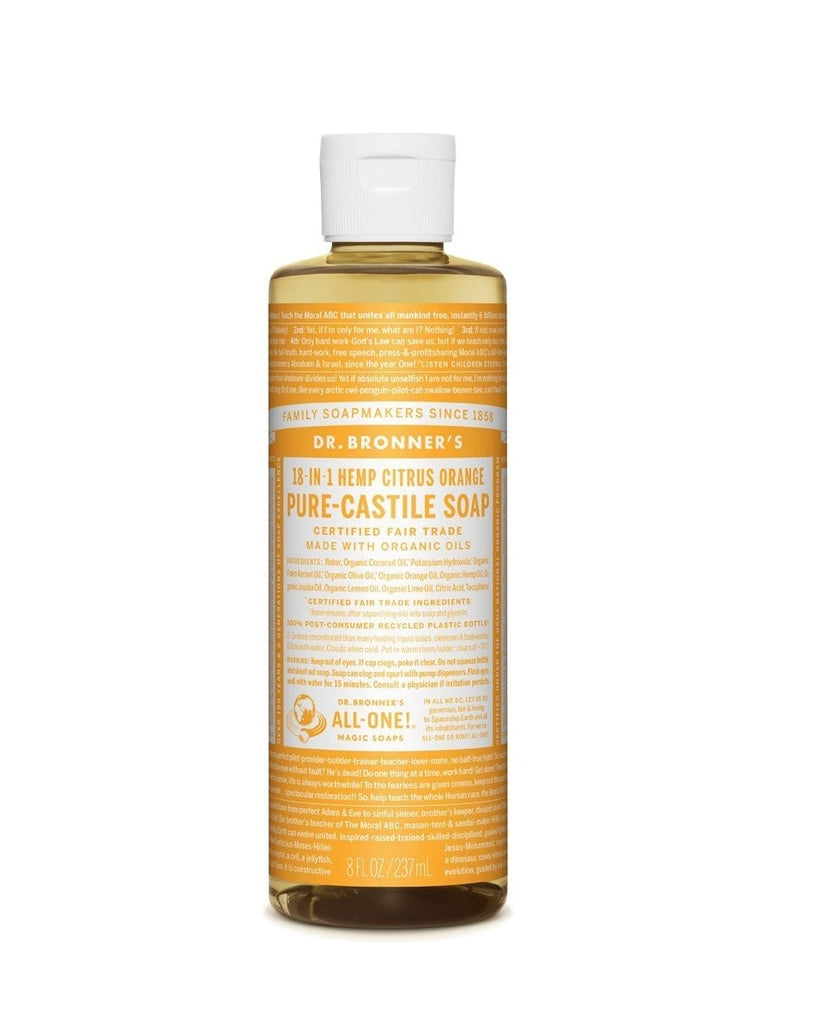 DR. BRONNER'S PURE CASTILE SOAP 18-IN-1 HEMP CITRUS 237ML