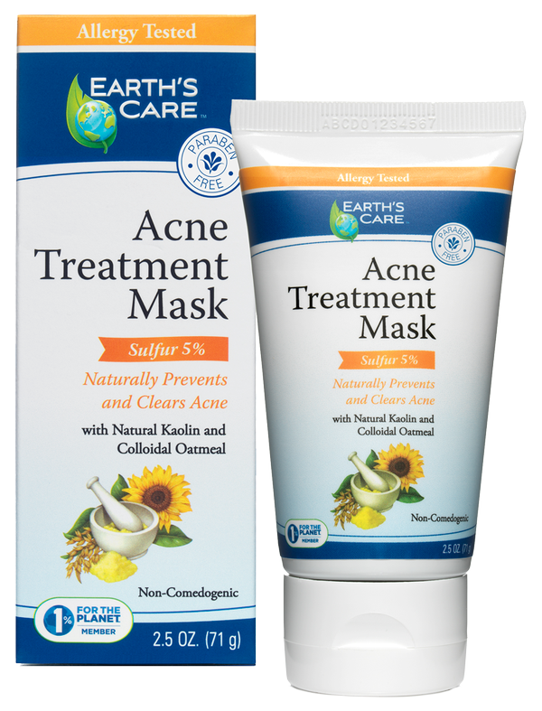 EARTH'S CARE ACNE TREATMENT MASK 71G