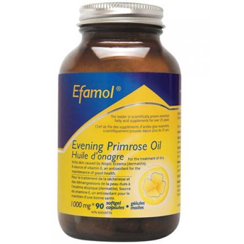 FLORA EFAMOL EVENING PRIMROSE OIL 1000MG 90SGS