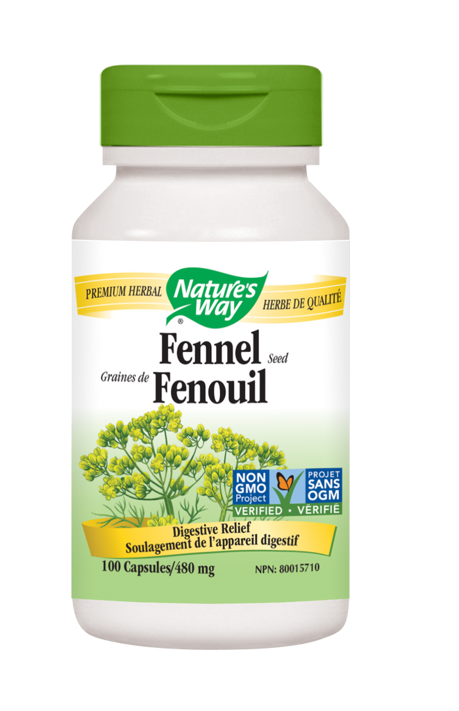 NATURE'S WAY FENNEL SEED 100CAPS
