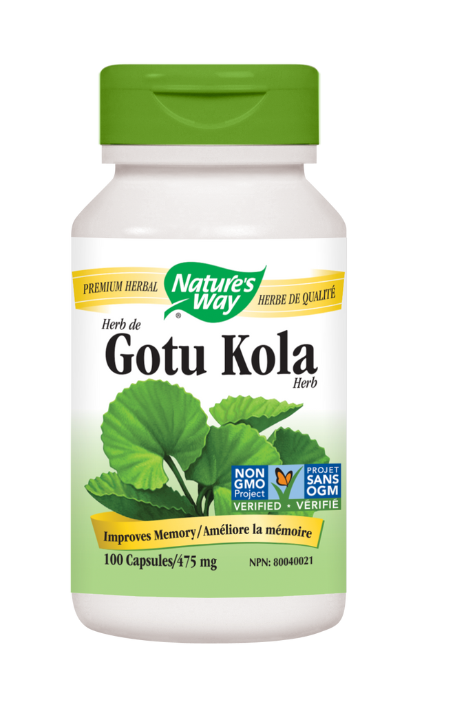 NATURE'S WAY GOTU KOLA 100CAPS