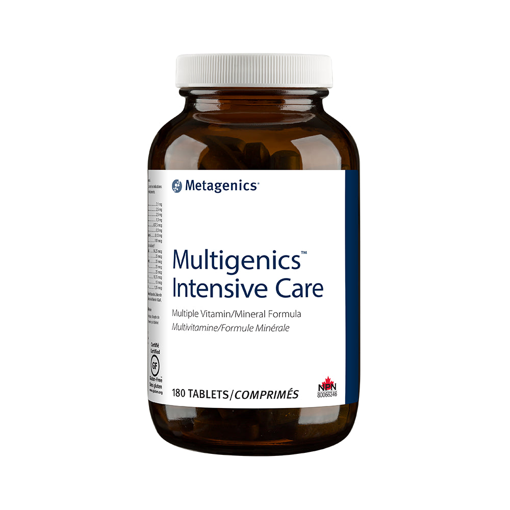 METAGENICS MULTIGENICS INTENSIVE CARE 180TABS