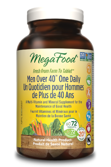 MEGAFOOD MEN OVER 40 ONE DAILY 72TABS