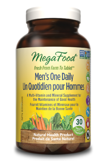 MEGAFOOD MEN'S ONE DAILY 30TABS