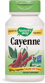 NATURE'S WAY CAYENNE PEPPER 100VCAPS