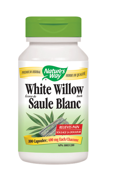 NATURE'S WAY WHITE WILLOW BARK 100VCAPS