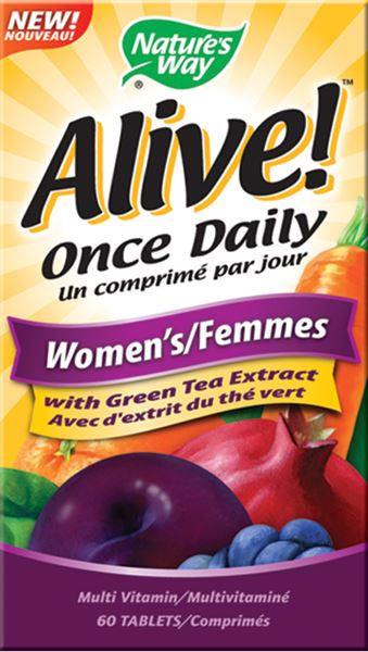 NATURE'S WAY WOMEN'S ALIVE ONCE DAILY 60TABS