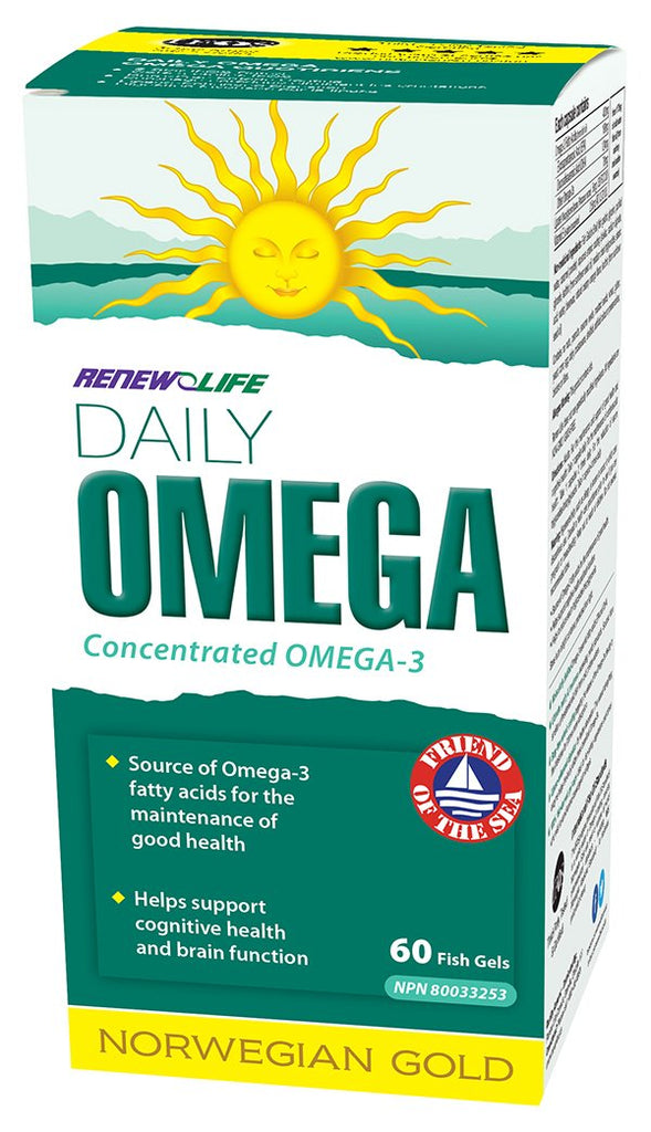 RENEW LIFE DAILY OMEGA 60SGS
