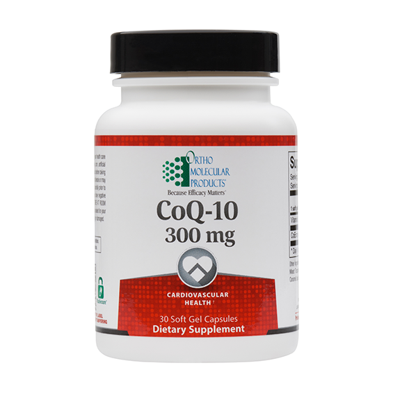 ORTHO MOLECULAR PRODUCTS COQ-10 300MG 30SGS