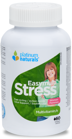PLATINUM NATURALS EASYMULTI STRESS FOR WOMAN 60SGS