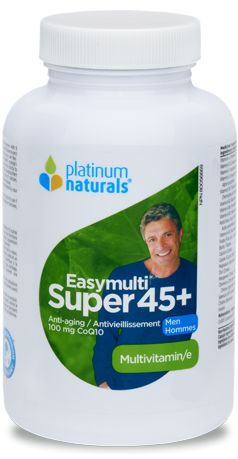 PLATINUM NATURALS SUPER EASYMULTI 45+ FOR MEN 120SGS