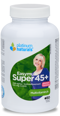 PLATINUM NATURALS SUPER EASYMULTI 45+ FOR WOMEN 60SGS