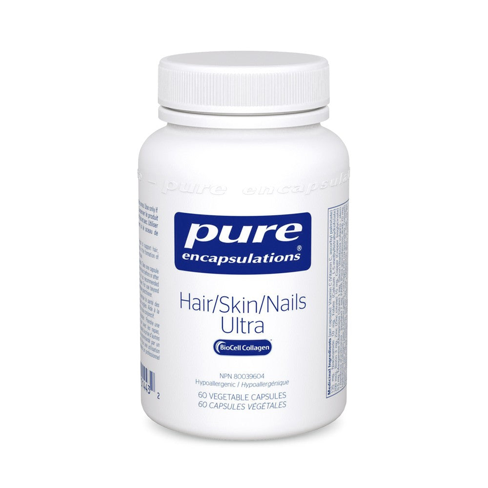 PURE ENCAPSULATIONS HAIR SKIN NAILS ULTRA 60VCAPS