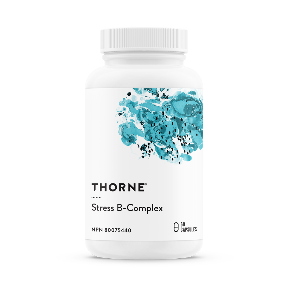 THORNE STRESS B-COMPLEX 60CAPS
