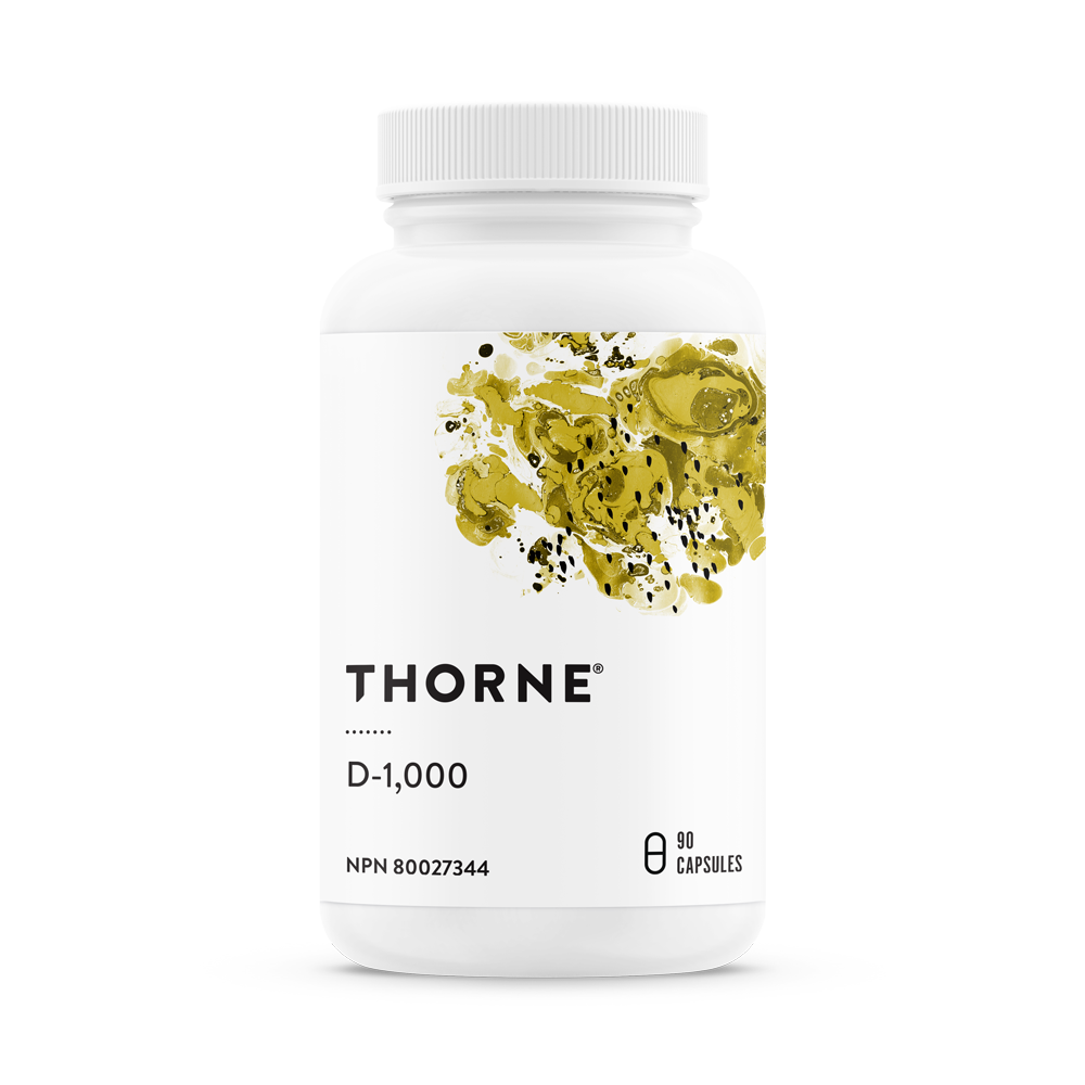 THORNE VITAMIN D-1000 90CAPS