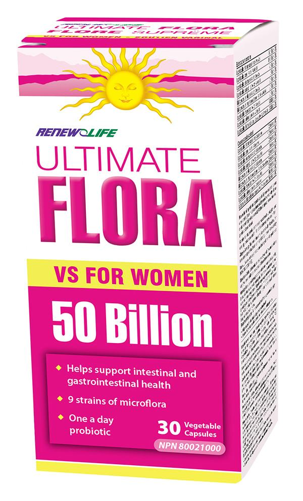 RENEW LIFE ULTIMATE FLORA 50B 30VCAPS