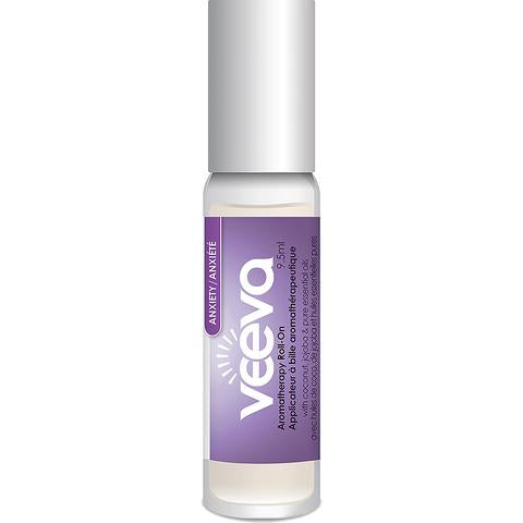 VEEVA AROMATHERAPY ANXIETY ROLL-ON 9.5ML