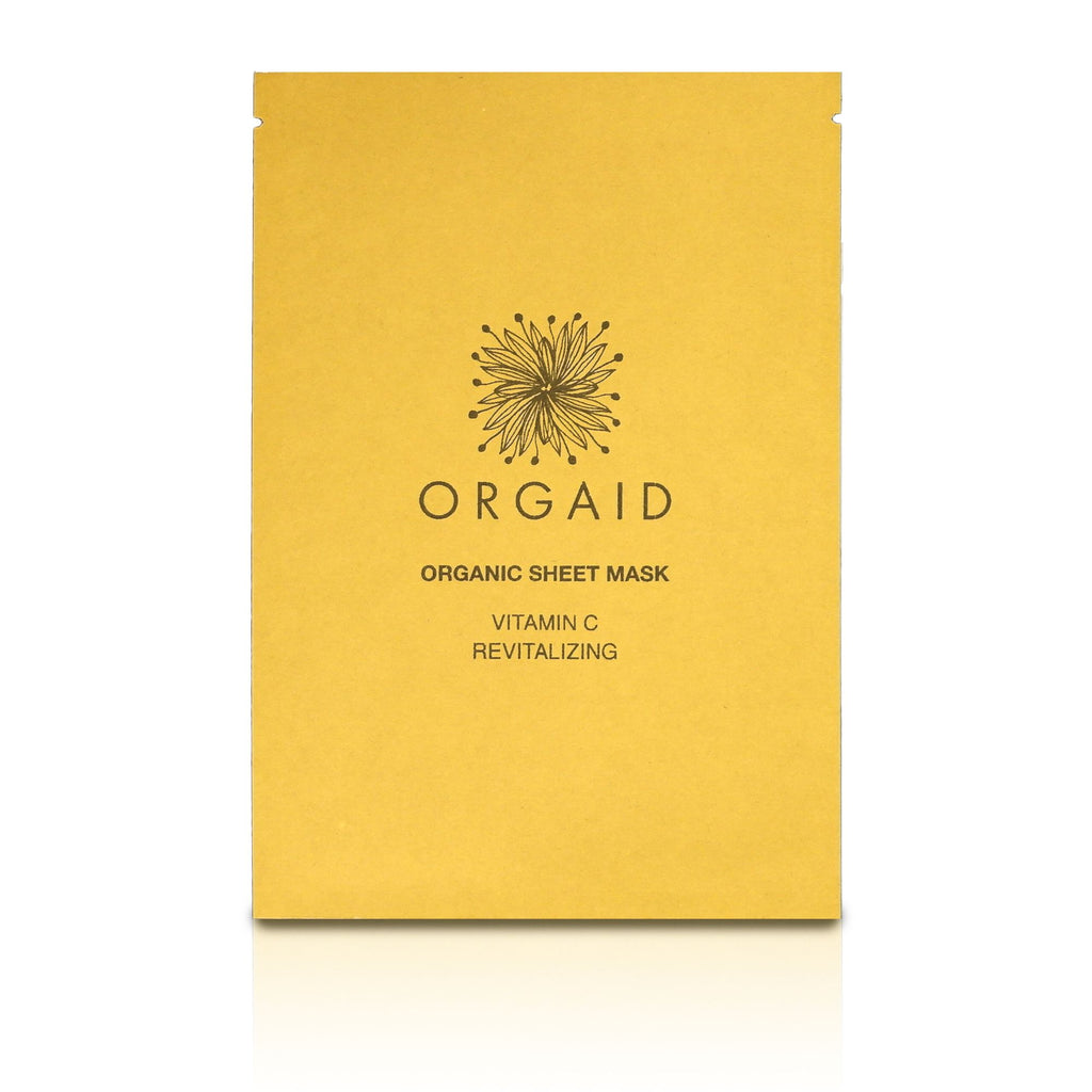 ORGAID VITAMIN C & REVITALIZING ORGANIC SHEET MASK 1PC
