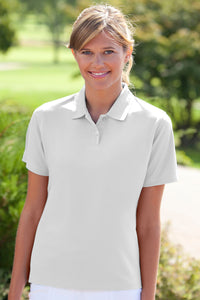 Womens Two Line TSC Burgee Performance Polo
