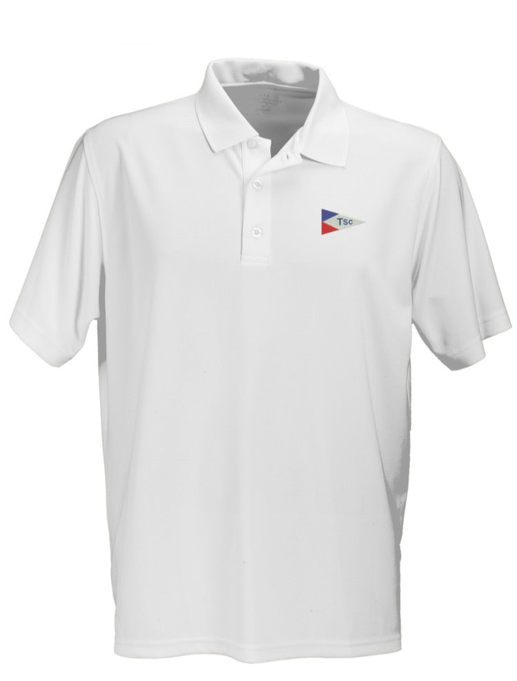 Mens TSC Burgee Performance Polo
