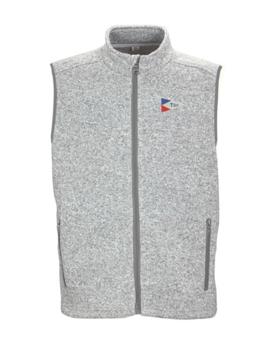 Mens TSC Burgee Fleece Sweater Vest