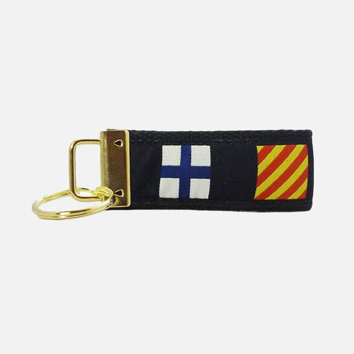 Key Fob - Nautical Flag
