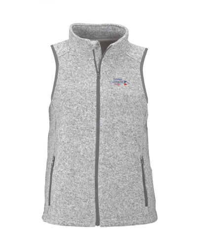 Womens TSC Burgee Fleece Sweater Vest