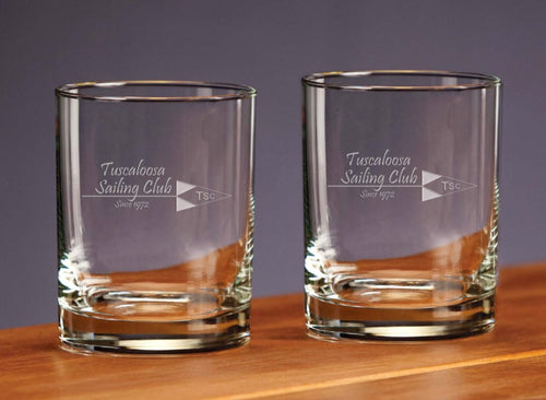 DOUBLE OLD FASHION GLASSES