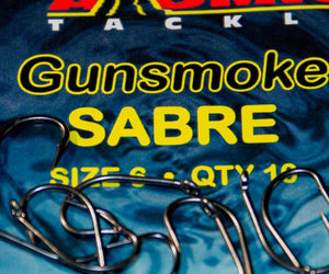 Atomic Tackle Gunsmoke Sabre Hooks