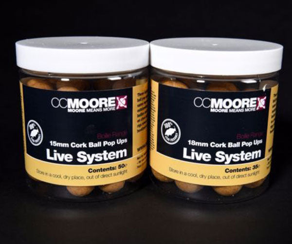 CC Moore Live System Air Ball Pop Ups