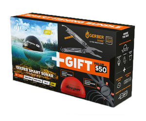 Deeper Pro Plus Fishfinder Gift Bundle