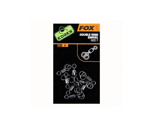 Fox Edges Double Ring Swivels