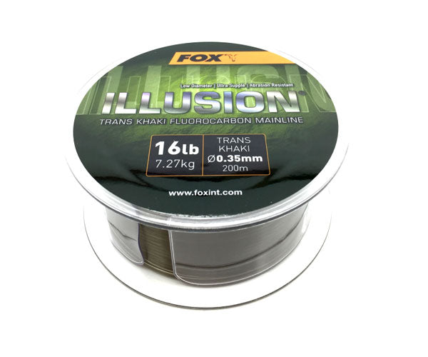 Fox Illusion Fluorocarbon Mainline 200m