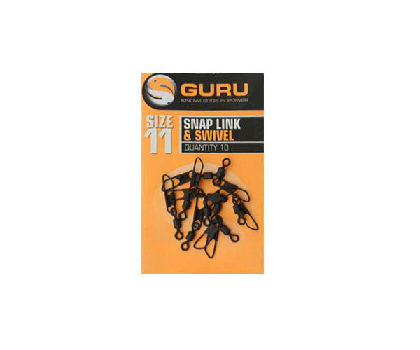 Guru Size 11 Snap Link & Swivel