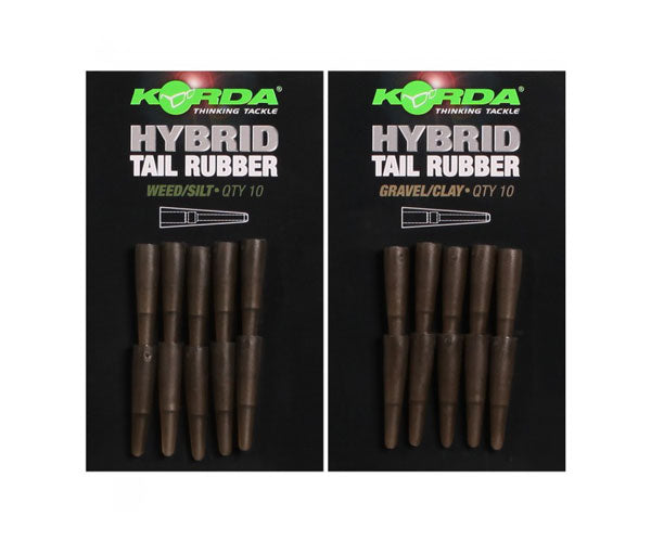 Korda Hybrid Tail Rubbers