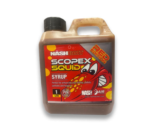 Nash Scopex Squid RED Spod Syrup 1 litre
