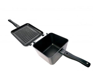 Ridge Monkey Connect Multi-Purpose Pan and Griddle Set