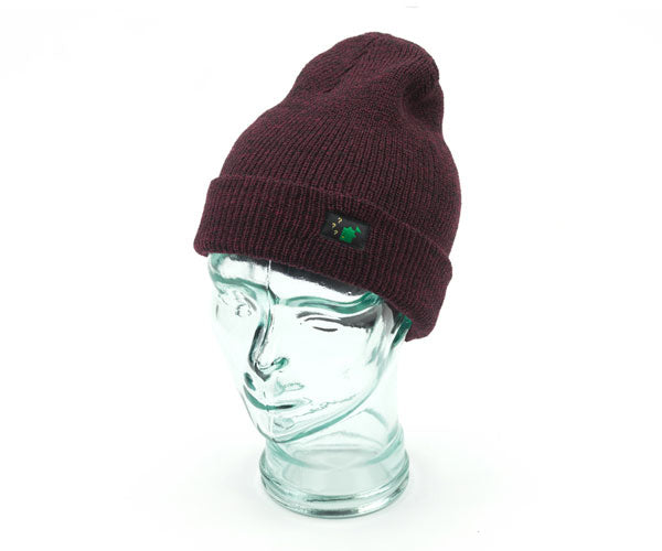 Thinking Anglers Coloured Beanie Antique Burgundy