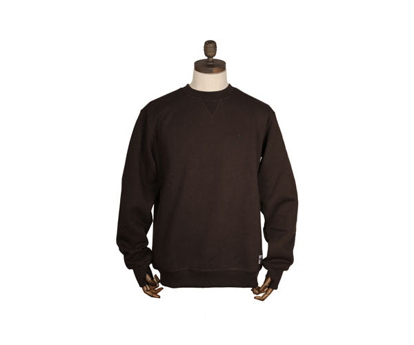 Thinking Anglers Brown Crew Neck